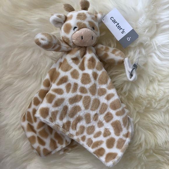 47005cd3a Carter's Other | Carters Nwt Giraffe Lovie | Poshmark